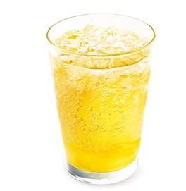 モスバーガー「甘夏 ジンジャーエール<熊本県産甘夏果汁0.5%使用>」2021年5月