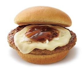 モスバーガー「とびきりハンバーグサンド<チーズ>」