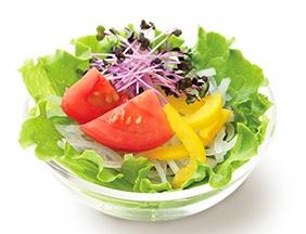 モスバーガー「こだわり野菜のサラダS 和風ドレッシング<減塩タイプ>」