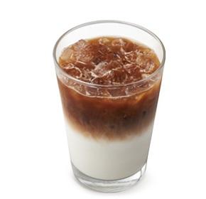 モスバーガー「アイスカフェラテ」