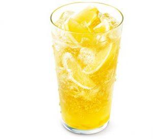 モス「まるごと!レモンのジンジャーエールwith甘夏ソース」2021年9月