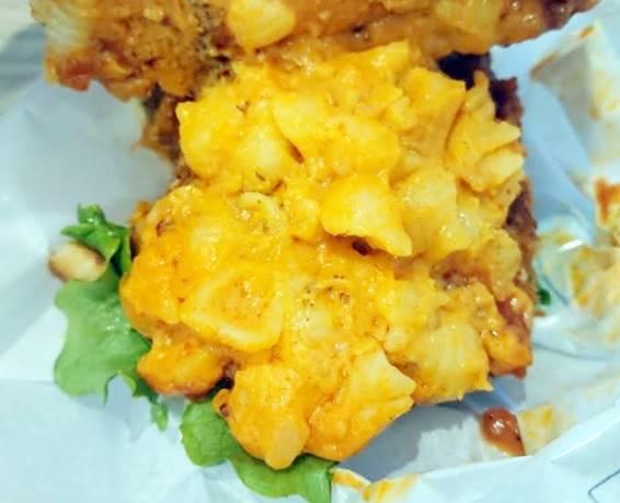 モスバーガー「マッケンチーズ&コロッケバーガー」開けてみた